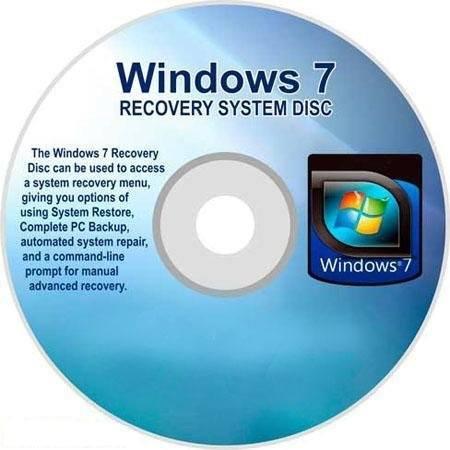 установочный диск Windows 7